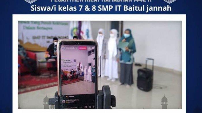 SMP IT Baitul Jannah Kemiling Bandar Lampung Gelar Pesantren Ramadhan