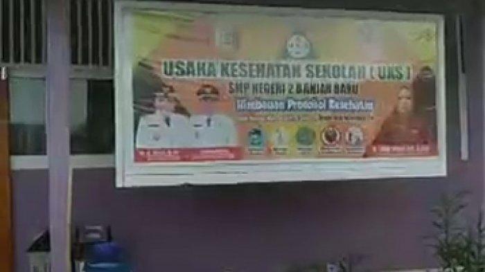 Sekolah di Tulangbawang Lampung Siapkan Ruang Isolasi saat PTM
