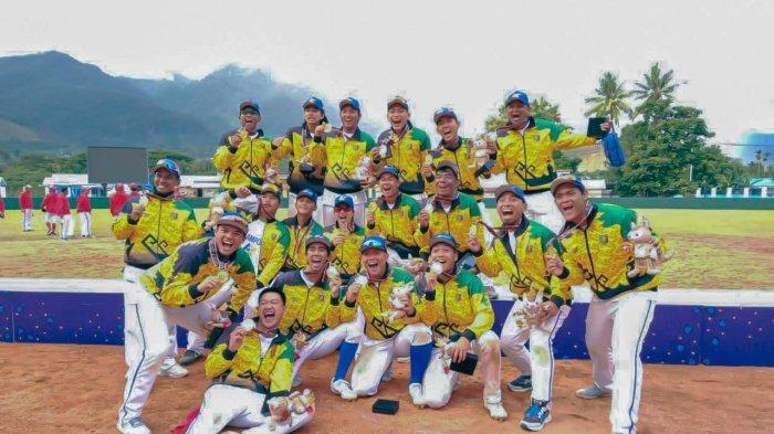 Kapten Tim Beberkan Kunci Sukses Sofbol Putra Lampung Sabet Emas PON Papua 2021