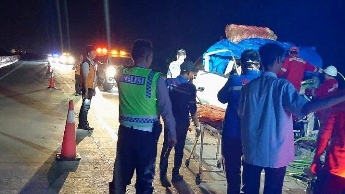 Sopir Truk yang Tewas di Tol Lampung karena Terlibat Lakalantas Maut Ternyata Warga Lambar