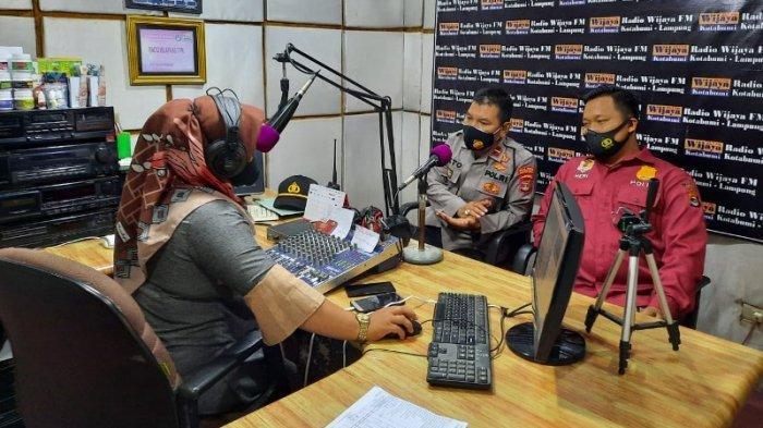 Rekrutmen Proaktif Calon Anggota Polri, Polres Lampung Utara Sosialisasi Lewat Radio