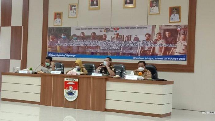 6.000 Bidang Tanah di Mesuji Ikut Program PTSL