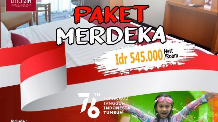 Spesial HUT Ke-76 RI, Promo Rp 545 Ribu per Kamar di EMERSIA Hotel & Resort Bandar Lampung