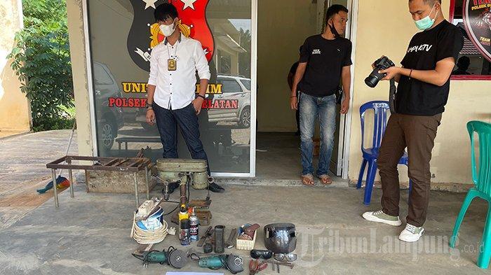Spesialis Senpi Rakitan di Lampung Mengaku Baru 1,5 Tahun Buat Senjata Api