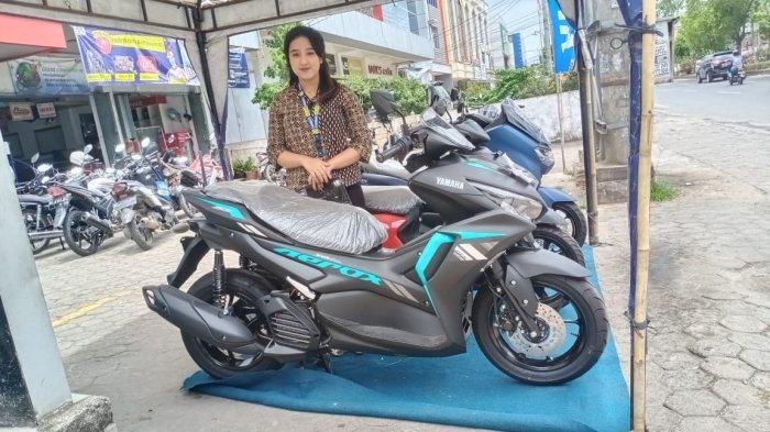 Info Motor Terbaru, Promo Okto Gear Yamaha Aerox Bulan Oktober 2021