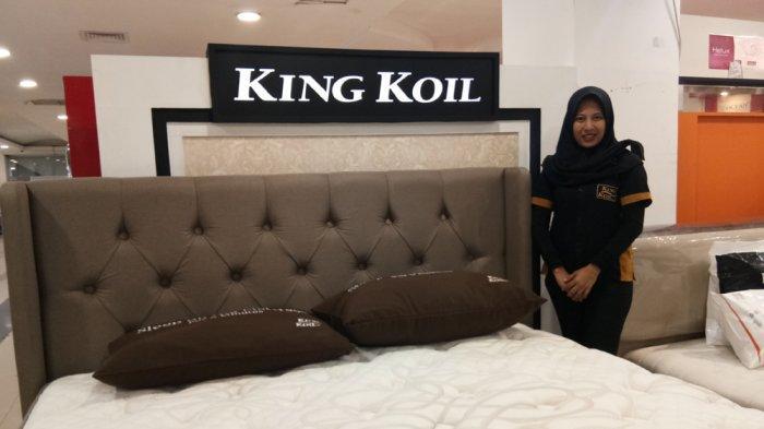 Toko de'Layla Furniture Beri Diskon untuk Pembelian King Koil dan Florence di Chandra Tanjungkarang