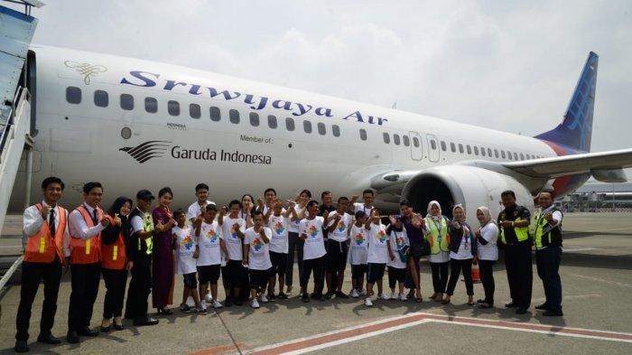 Peringati Hari Autisme Sedunia 2019, Sriwijaya Air Gelar Visit Airport Bertajuk #StandwithAutism