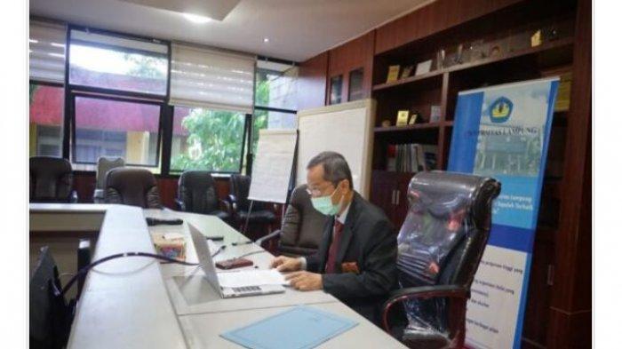 Rektor Universitas Lampung Buka Kegiatan Asesmen Lapangan S3 MIPA