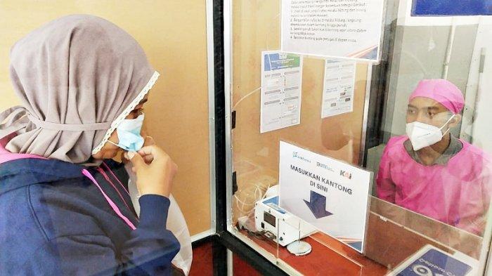 Stasiun KA Tanjungkarang Buka Layanan GeNose C19 untuk Penumpang Jarak Jauh