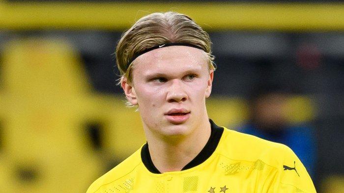 Striker Borussia Dortmund Erling Haaland