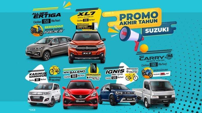 Beli Mobil Suzuki di Persada Lampung Raya Bisa Dapat Hadiah Motor Sport
