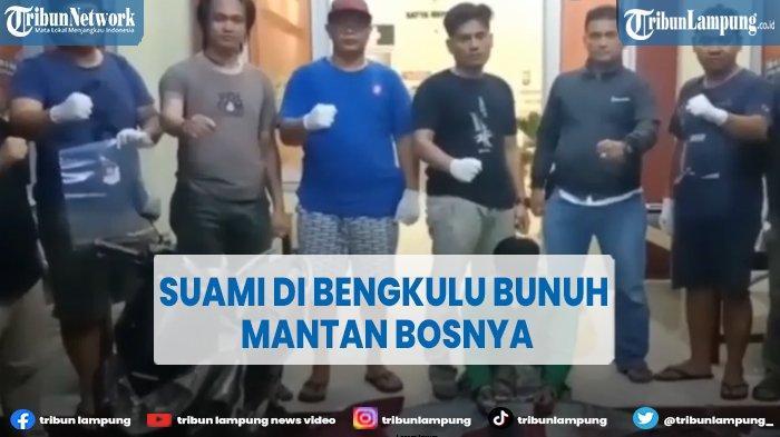 Suami di Bengkulu Bunuh Mantan Bosnya, Diajak Minum Sebelum Ditusuk