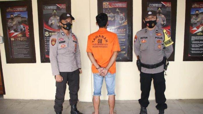 Suami di Pringsewu Aniaya Istri Hamil 9 Bulan Gara-gara Dilarang Pergi Main