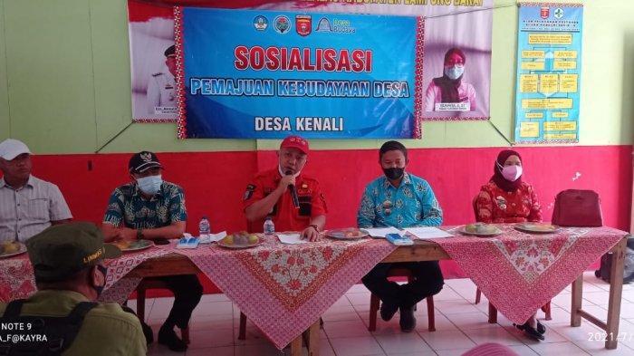 Pekon Kenali Lampung Barat Sosialisasi Potensi Budaya Desa