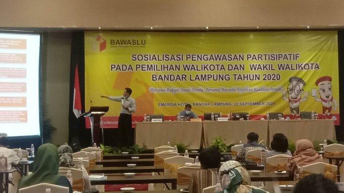 Bawaslu Ajak Masyarakat Ikut Awasi Tahapan Pilkada Bandar Lampung 2020