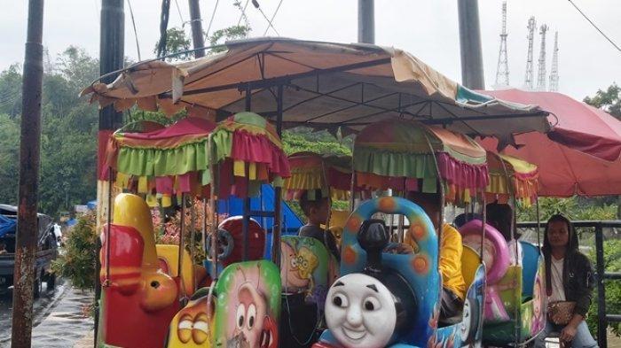 Wisata Hamtebiu Lampung Barat Banyak Disinggahi Pengunjung di Hari Ketiga Lebaran