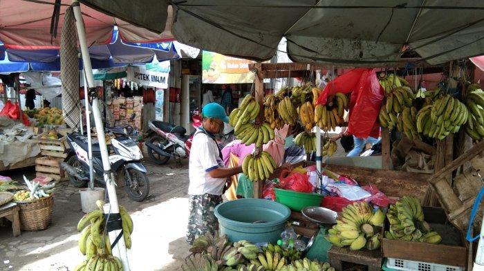 Pasar Tradisional di Bandar Lampung Kembali Ramai di H+2 Lebaran