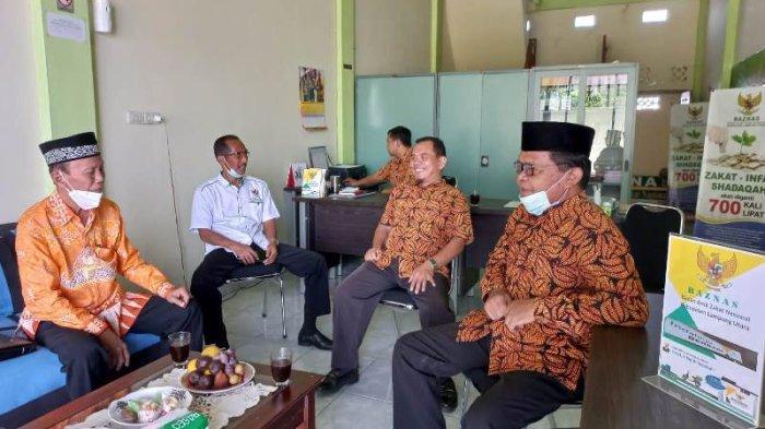 Sudirman Apresiasi Baznas Lampung Utara Berhasil Tingkatkan Zakat Perorangan
