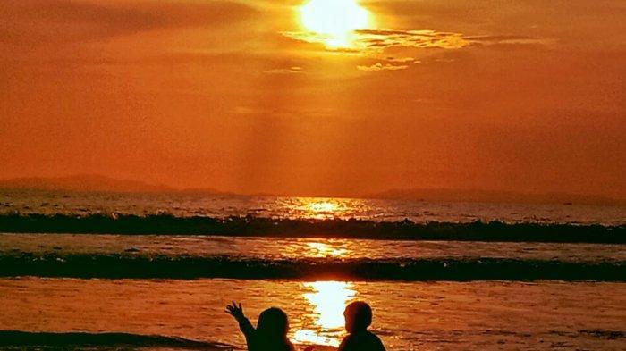 Pantai Kedu Warna di Kalianda Lamsel Destinasi Wisata Terbaik Nikmati Sunset