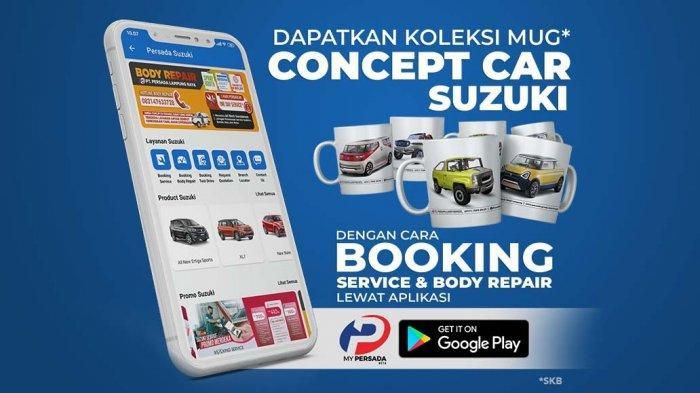 Booking Service & Body Repair Suzuki Pakai Aplikasi My Persada