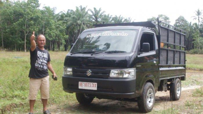 Bapak Narno Pilih Suzuki Carry Untuk Usaha Jual Beli Sapi Sejak Tahun 2008