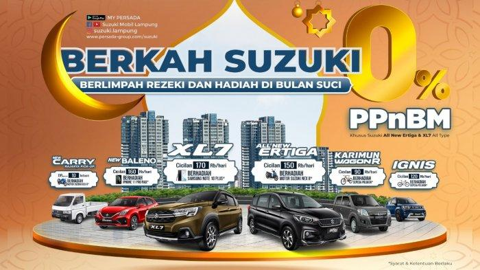 PPnBM 0% Suzuki XL7 dan All New Ertiga All Type