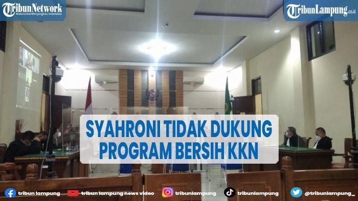 Syahroni Dianggap Tidak Dukung Program Bersih KKN