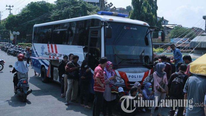 Syarat Perpanjang SIM di Pelayanan SIM Keliling yang Ada di Bandar Lampung