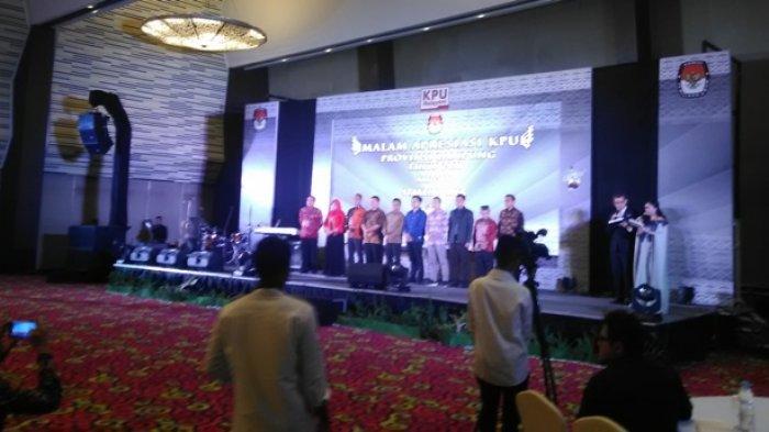 BREAKING NEWS - Sukses Gelar Pilgub Lampung 2018, KPU Adakan Syukuran di Novotel