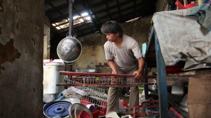 Tabung Gas Meledak, Karyawan Warung Makan di Bandar Lampung Luka Bakar di Sekujur Tubuh