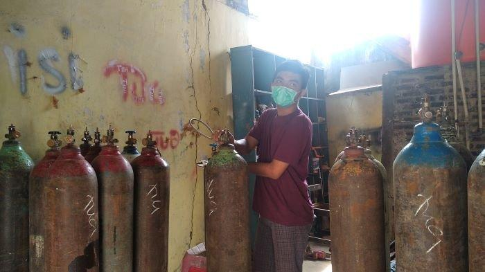 RSUD Ragab Begawe Caram Mesuji Lampung Tegaskan Stok Tabung Oksigen Aman