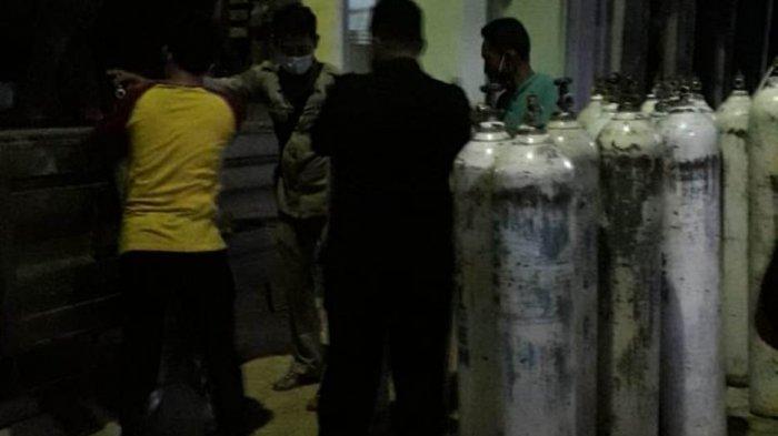 Penuhi Kebutuhan Oksigen di RSUD Pesawaran Lampung, Pemkab Kirim Tim untuk Isi Tabung ke Palembang