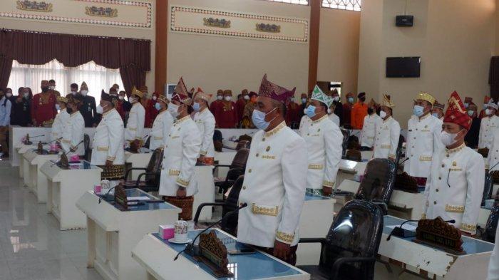 Paripurna Istimewa Hari jadi ke 24 Kabupaten Tanggamus dan HUT Provinsi Lampung ke 57