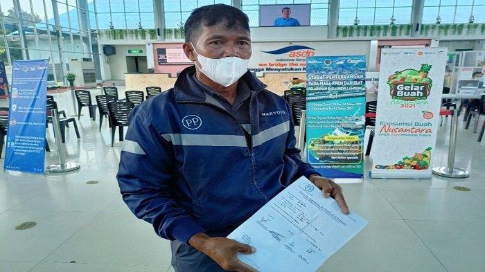 Tak Miliki Sertifikat Vaksin, Calon Penumpang di Pelabuhan Bakauheni Lampung Ditolak Petugas