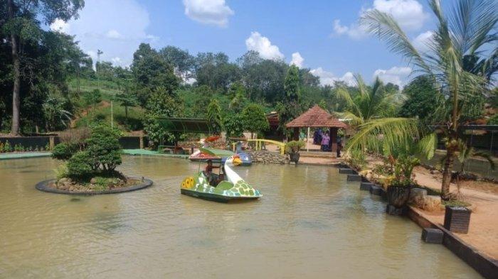 Wisata Lampung - Taman Asmoro, Destinasi Wisata Unggulan di Abung Kunang Lampung Utara