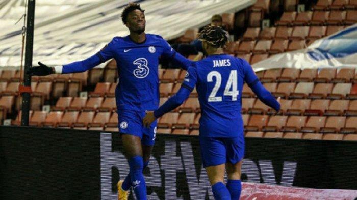 Tammy Abraham mencetak gol kemenangan bagi Chelsea atas Barnsley  di putaran kelima piala FA, Jumat (12/2/2021) dini hari