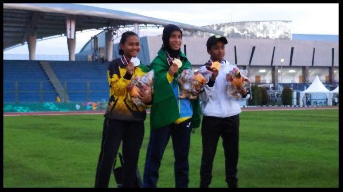 Tampil Percaya Diri, Nabella Ariantika Rebut Medali Perak di PON XX Papua Cabor Atletik