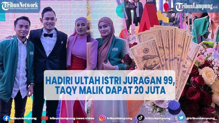 Taqy Malik Kumpulkan Rp 20 Juta di Acara Ultah Istri Juragan 99, ' Buat Urut di Mak Erot'