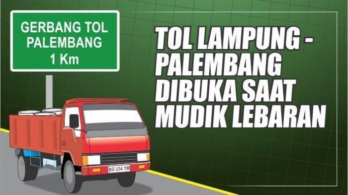 Tarif Tol Bakauheni Palembang 2021 dan Biaya Tol Lampung Palembang, Siapkan e-Toll