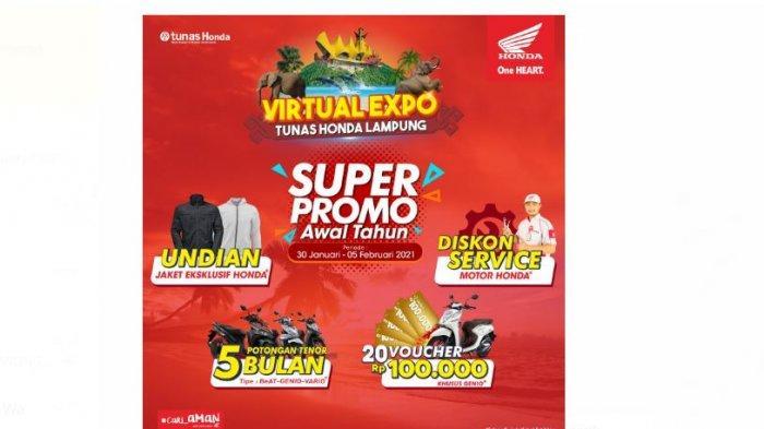 Virtual Expo Tunas Honda Lampung Sediakan Penawaran Menarik