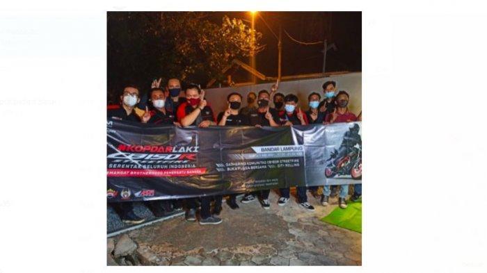 Tunas Honda Lampung Gelar Kopdar Laki Bersama Komunitas CB 150R