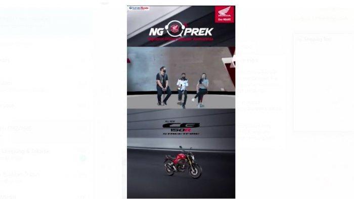 Program Ngoprek Tunas Honda Lampung Kupas Tuntas All New CB 150 R
