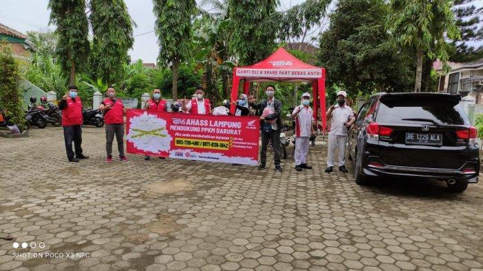 Tunas Dwipa Matra Gelar Program CSR untuk Team Satgas Covid Bandar Lampung