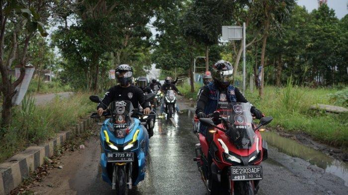 ADV Urban Exploride Ajak komunitas Honda ADV Chapter Lampung (HAICL)