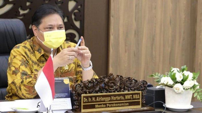 Menko Airlangga : Tren kasus Covid-19 Menurun, Level 3 di Luar Jawa Boleh Belajar Tatap Muka.