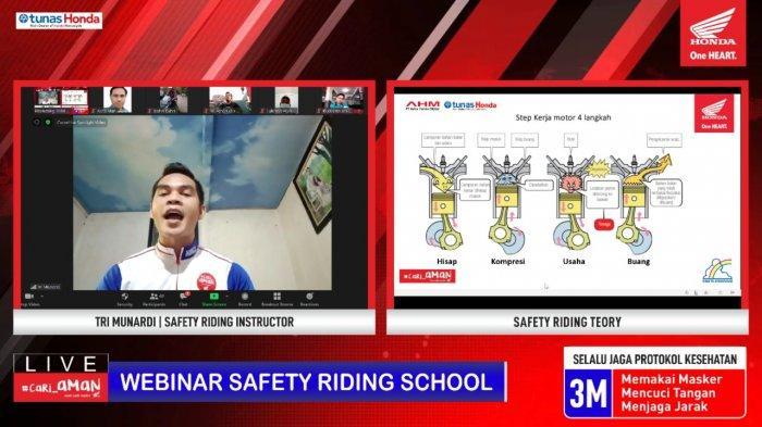 Tunas Dwipa Matra Gelar Edukasi Safety Riding Bersama SMK Ma'arif Purbolinggo Lampung Timur
