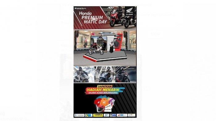 Tunas Dwipa Matra Bersama Komunitas HPCI Gelar Honda Premium Matic Day