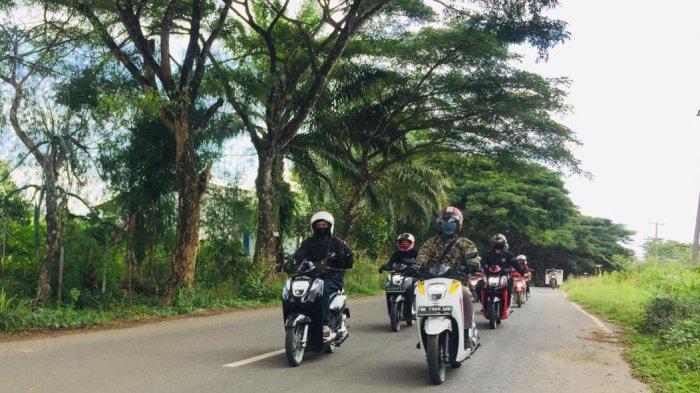 Tunas Honda Lampung Gelar Genio Eksis Ride