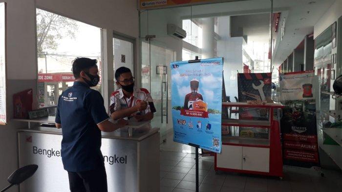 Service di AHASS TDM Lampung Gratis Asuransi Kecelakaan Diri Hingga 10 Juta