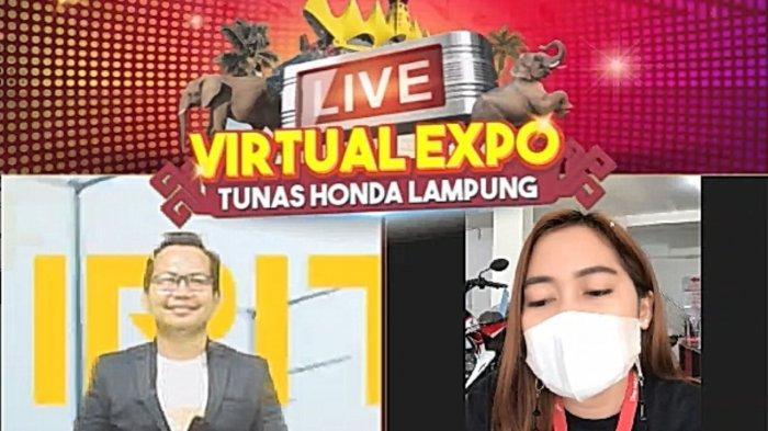 Serunya Live Virtual Expo Tunas Honda Lampung Seasion 2